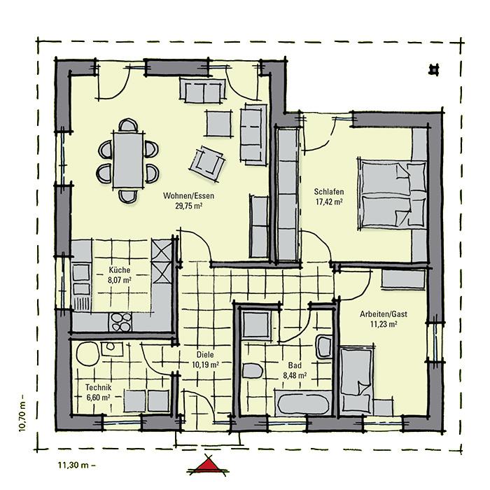 gussek haus bordeaux. Black Bedroom Furniture Sets. Home Design Ideas