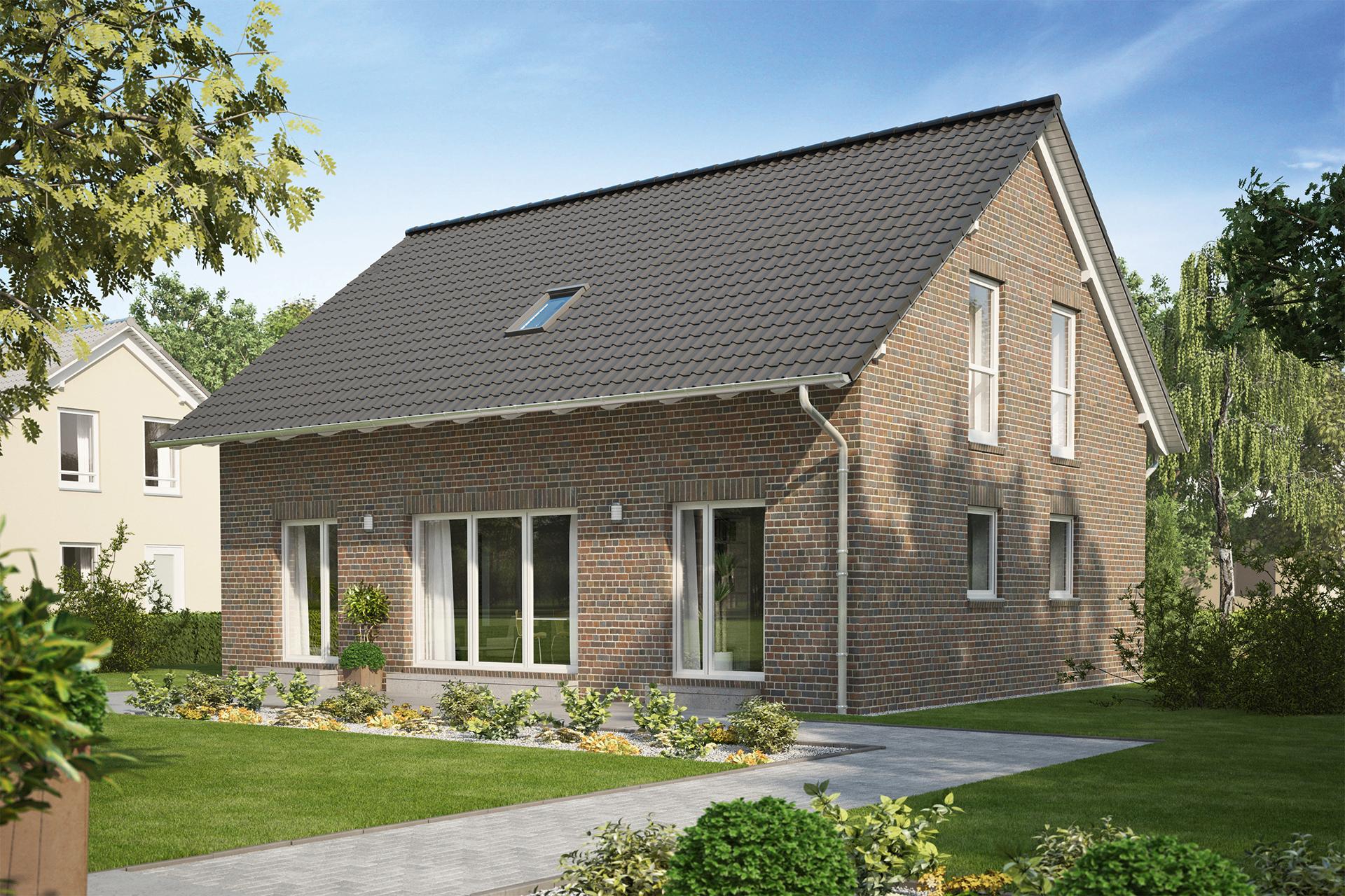 Einfamilienhaus guenstig bauen   Birkenallee   eines der 21 ...