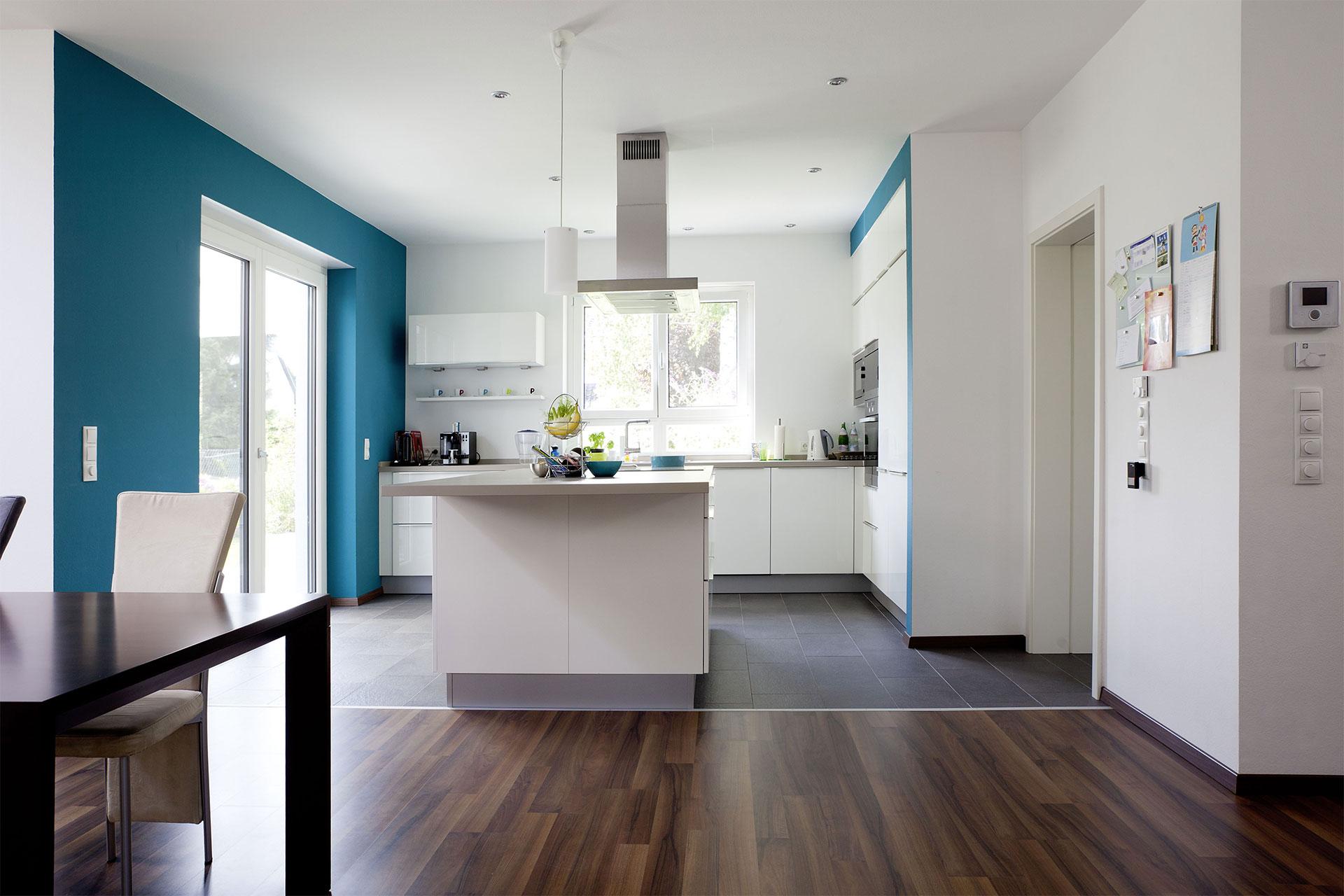 fertighaus flachdach modell castello ein fertighaus. Black Bedroom Furniture Sets. Home Design Ideas