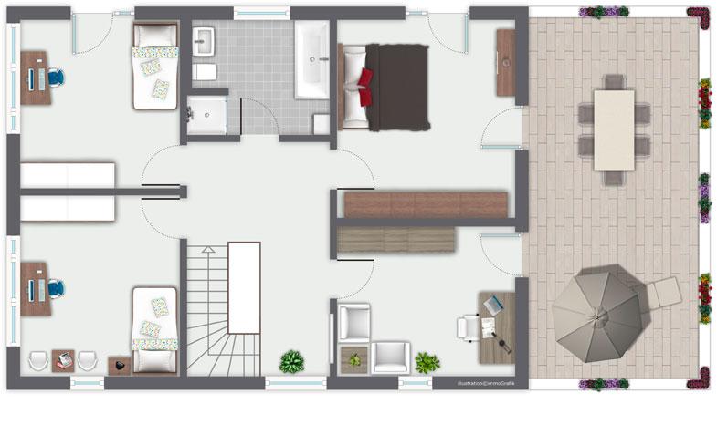 hauser amerikanischer stil eine vielzahl von traumhaus. Black Bedroom Furniture Sets. Home Design Ideas