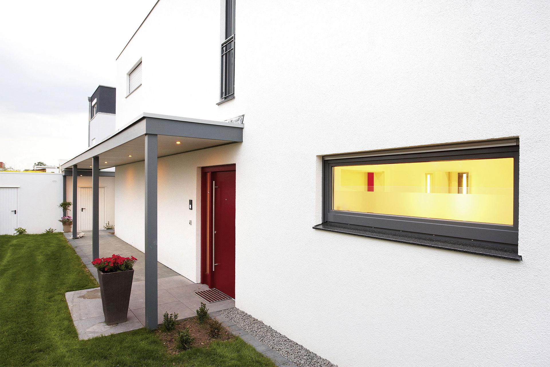 fertighaus flachdach modell trevi ein fertighaus von. Black Bedroom Furniture Sets. Home Design Ideas