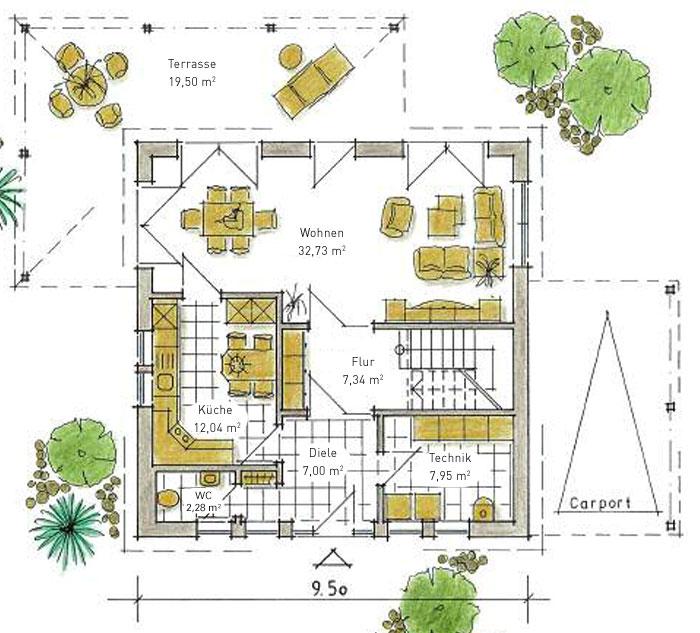 Einfamilienhaus bavenstedt ein fertighaus von gussek haus for Fertighaus grundrisse einfamilienhaus
