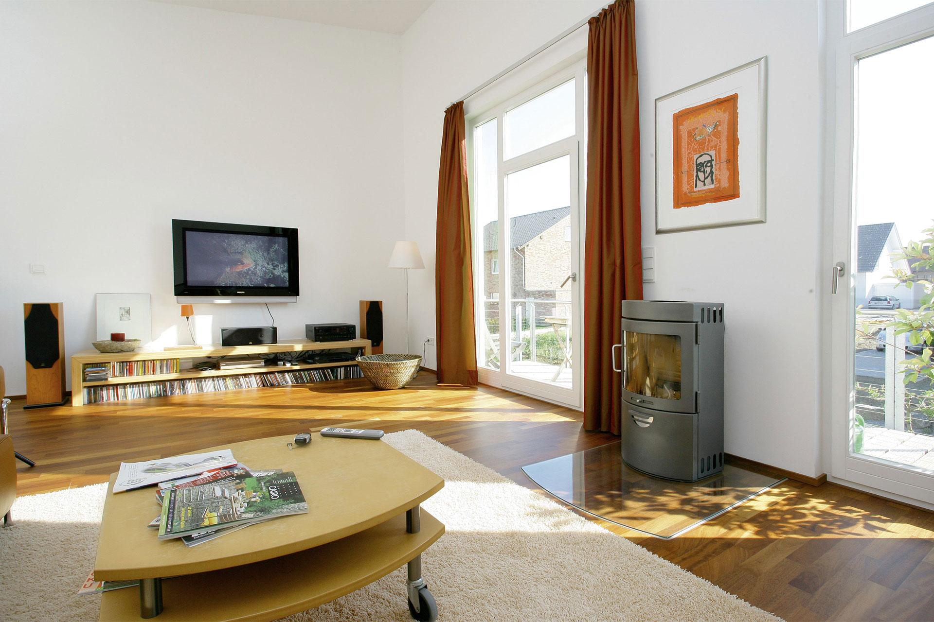 fertighaus mit pultdach und individueller wohnraumaufteilungmassgeschneidertes pultdach einfamilienhaus frankenberg ein fertighaus von gussek haus