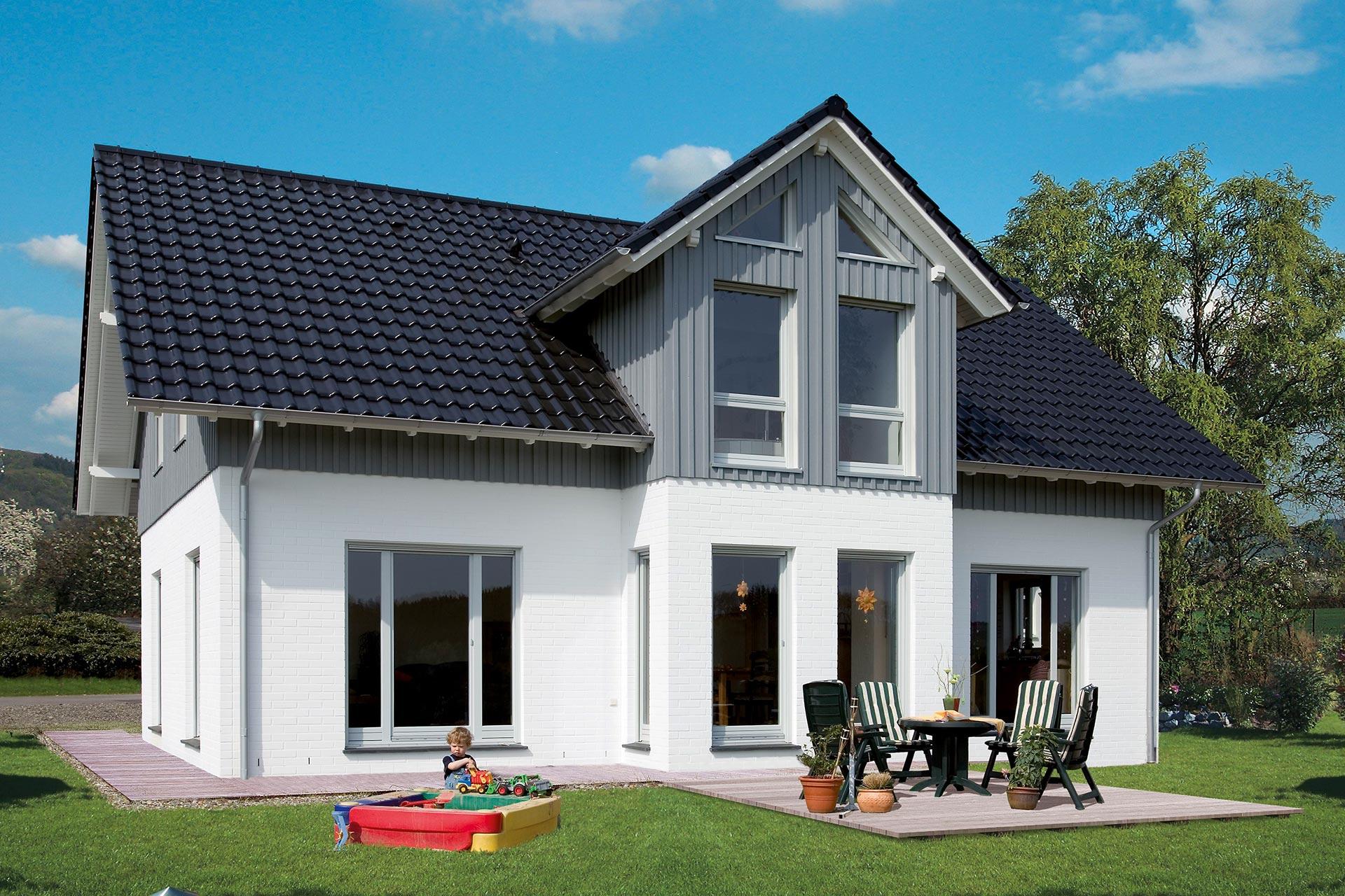 einfamilienhaus lindenstra e ein fertighaus von gussek. Black Bedroom Furniture Sets. Home Design Ideas