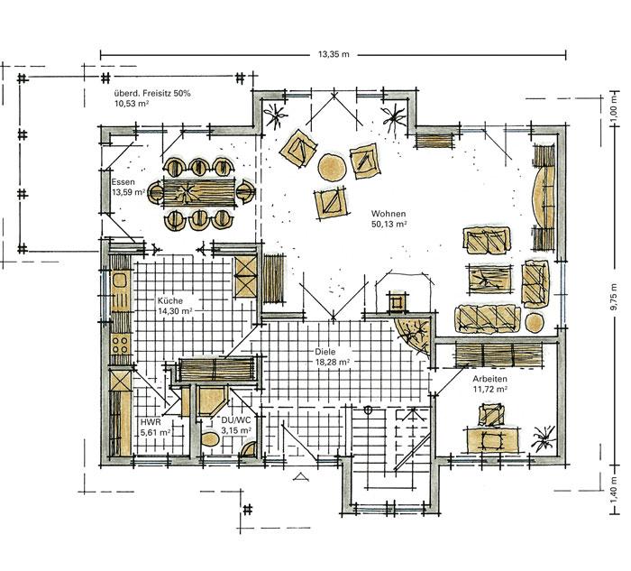 Fertighaus grundrisse einfamilienhaus  GUSSEK HAUS - Mühlhof