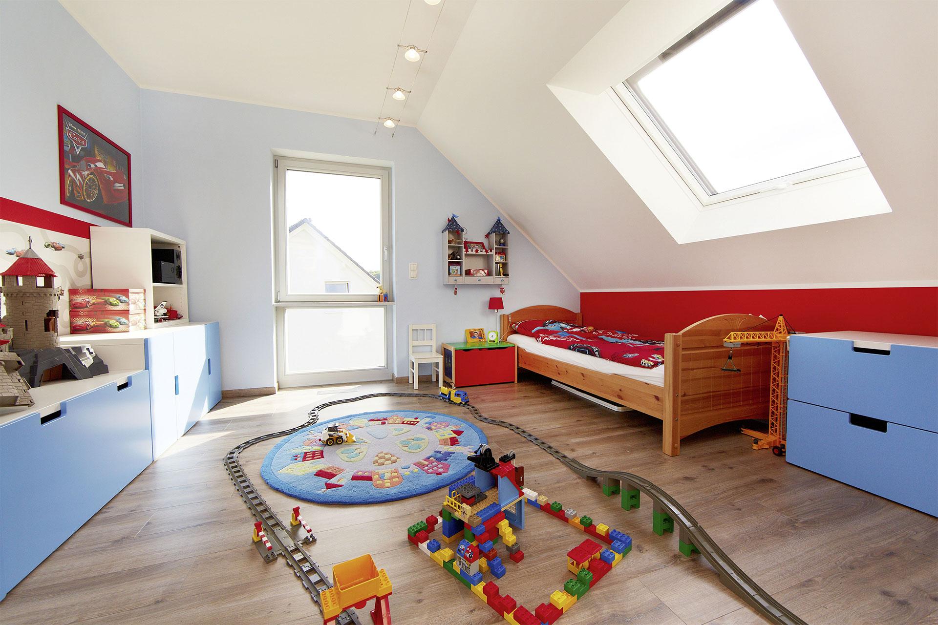 Energieeffizientes einfamilienhaus individuell geplant for Kinderzimmer qm