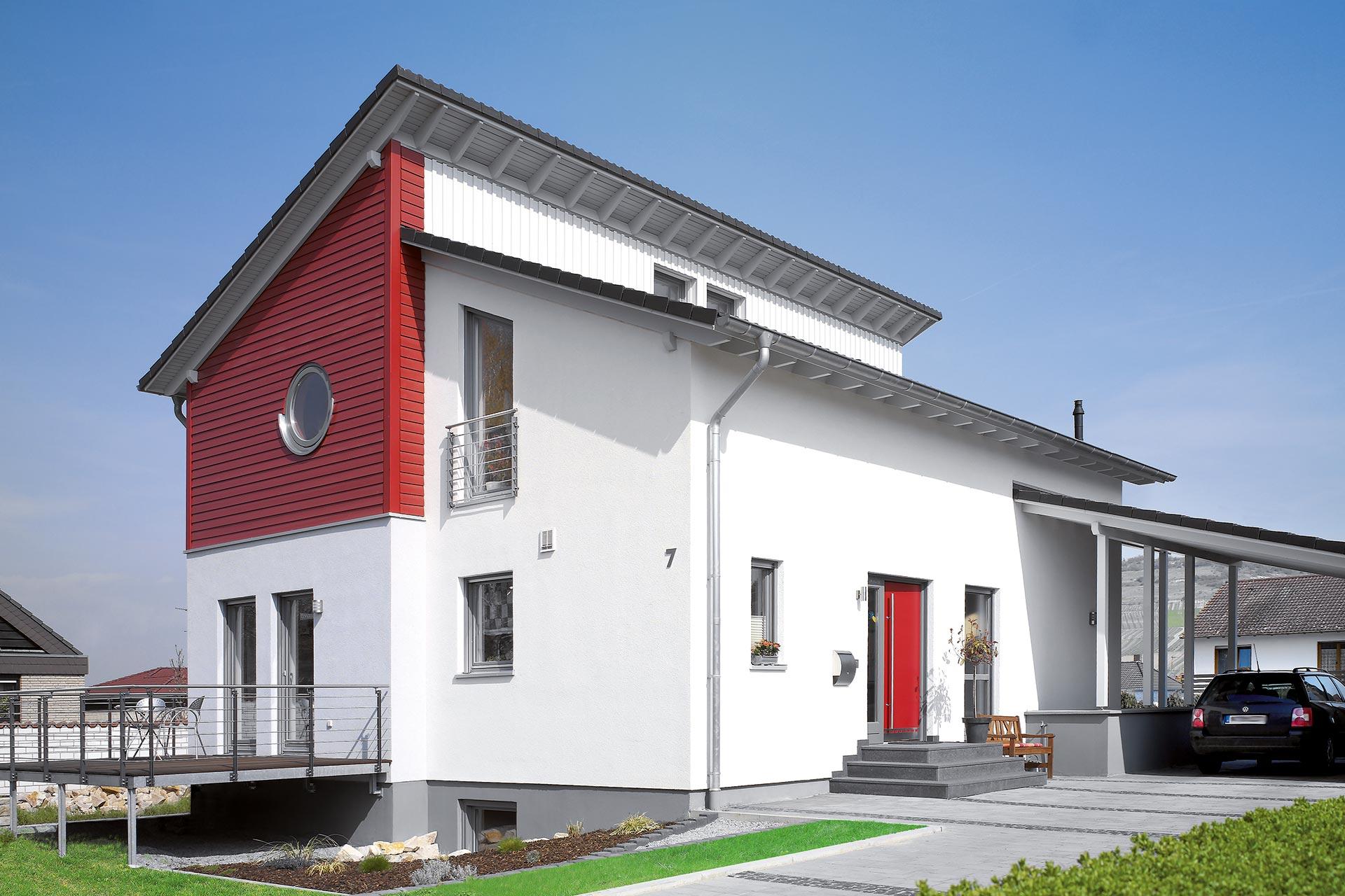 einfamilienhaus wildpark ein fertighaus von gussek haus. Black Bedroom Furniture Sets. Home Design Ideas