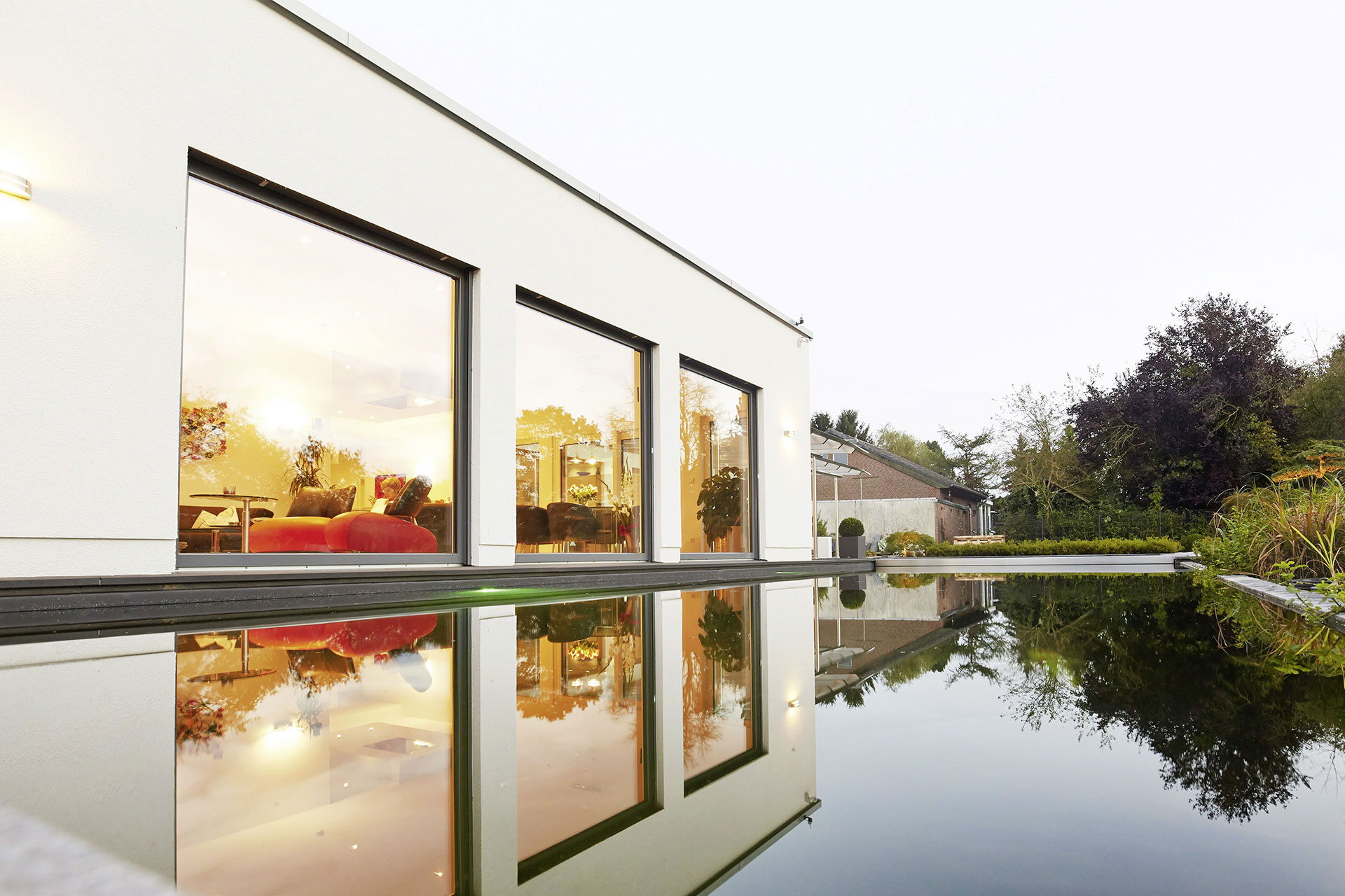 fertighaus bungalow algarve 182 ein fertighaus von. Black Bedroom Furniture Sets. Home Design Ideas