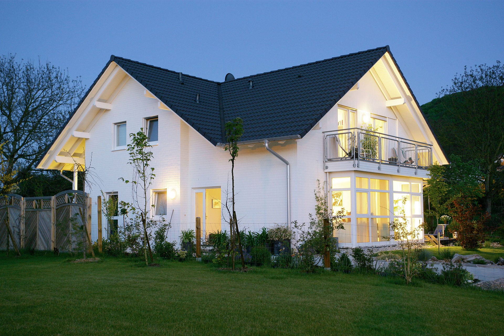 bungalow landhaus tessin ein fertighaus von gussek haus. Black Bedroom Furniture Sets. Home Design Ideas