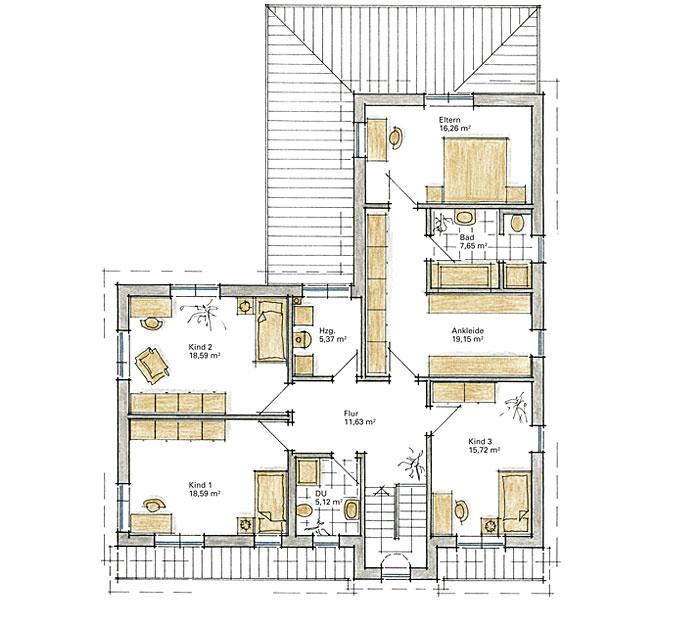 Moderne häuser grundriss l form  Grundriss Bungalow L Form ~ speyeder.net = Verschiedene Ideen für ...