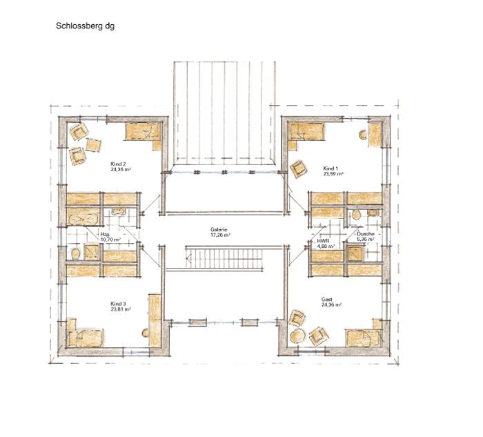 Fertigteilhaus bungalow grundriss  GUSSEK HAUS - Schlossberg