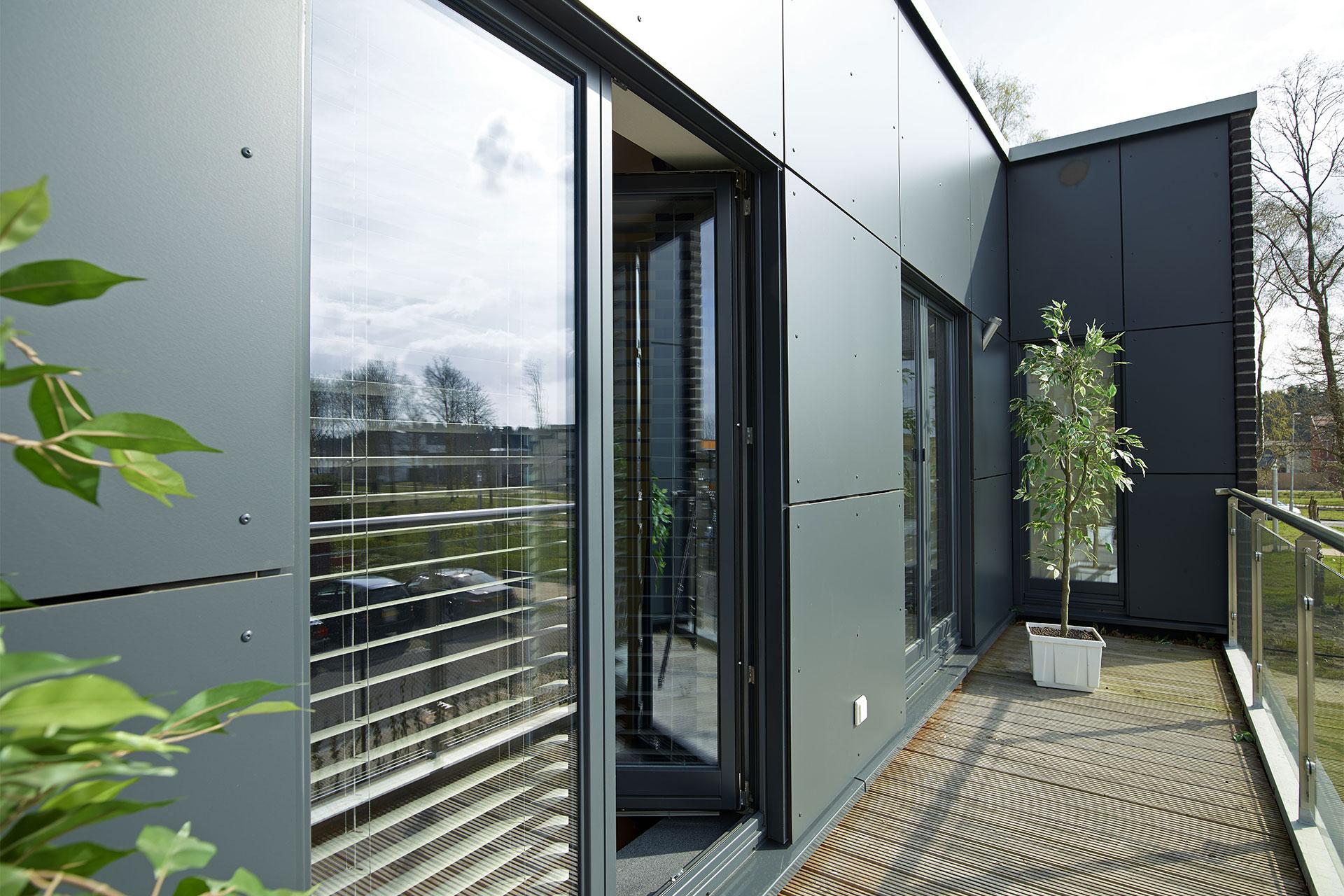 Fertighaus klinker perfect moderne fertighaus stadtvilla for Klinkerhaus modern