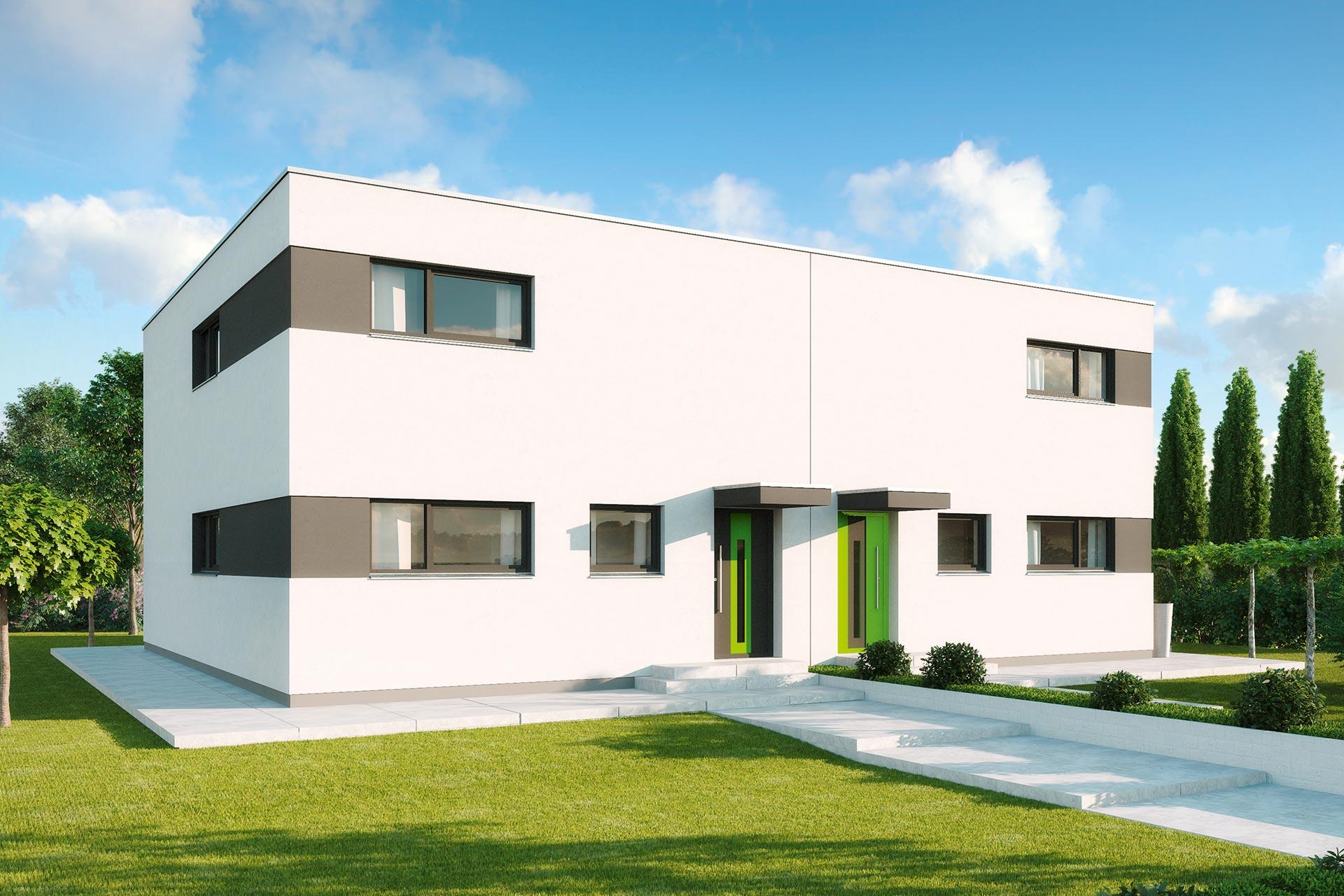 101 Doppelhaus Modern Doppelhaus Oder Reihenhaus Bauen