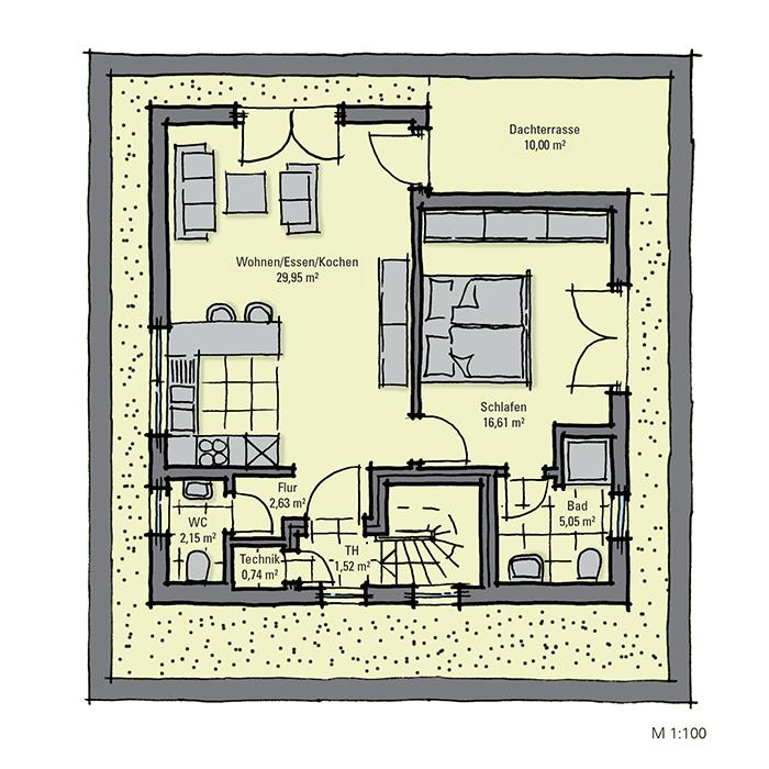 Einfamilienhaus mit kleiner einliegerwohnung grundriss  GUSSEK HAUS - Barcelona
