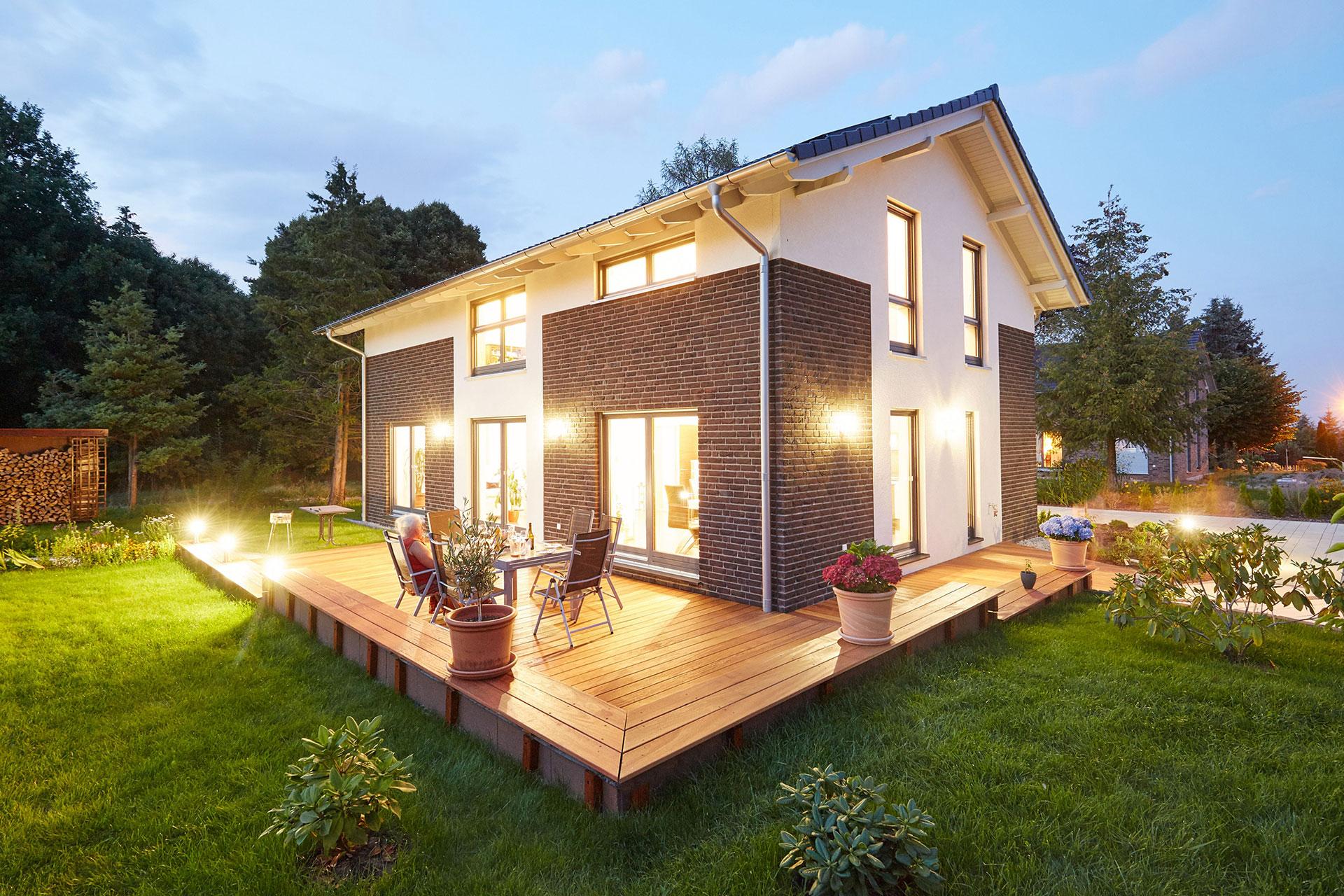 musterhaus melanie dresden ein fertighaus von gussek haus. Black Bedroom Furniture Sets. Home Design Ideas