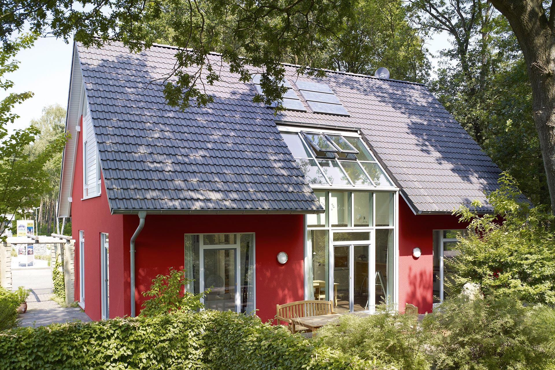 musterhaus svenja nordhorn ein fertighaus von gussek. Black Bedroom Furniture Sets. Home Design Ideas